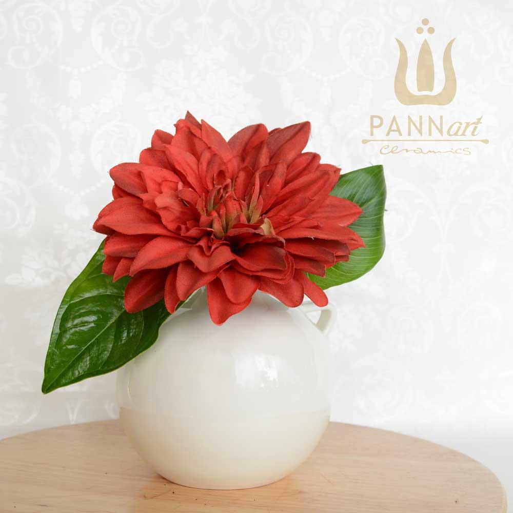 male keramične vaze za rože različnih oblik