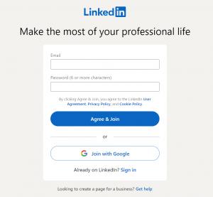 Kaj je LinkedIn prijava